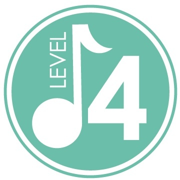 Level 4 - A Drop-off class for 4 & 5 year olds