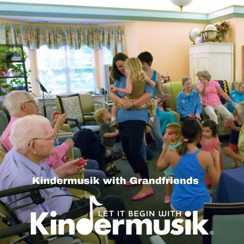 Kindermusik with Grandfriends
